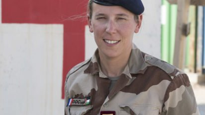 CHAMMAL : Portrait du médecin principal Anne, médecin en chef de la base aérienne projetée au Levant